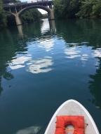paddleboarding in Austin