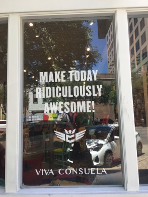 Make today ridiculously awesome