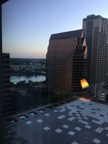 Hotel window pic!